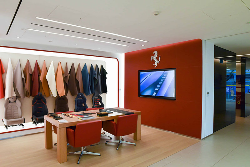FSB Ferrari Showroom