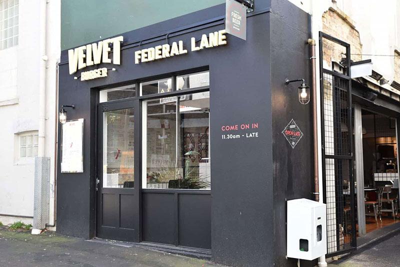 FSB Velvet Burger